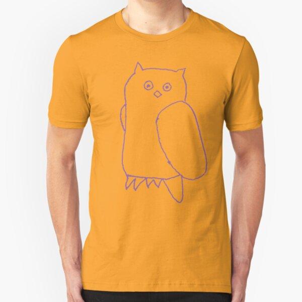 Purple Owl Slim Fit T-Shirt