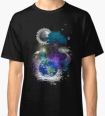 Cosmic geometric peace Classic T-Shirt