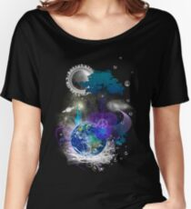 Cosmic geometric peace Women's Relaxed Fit T-Shirt