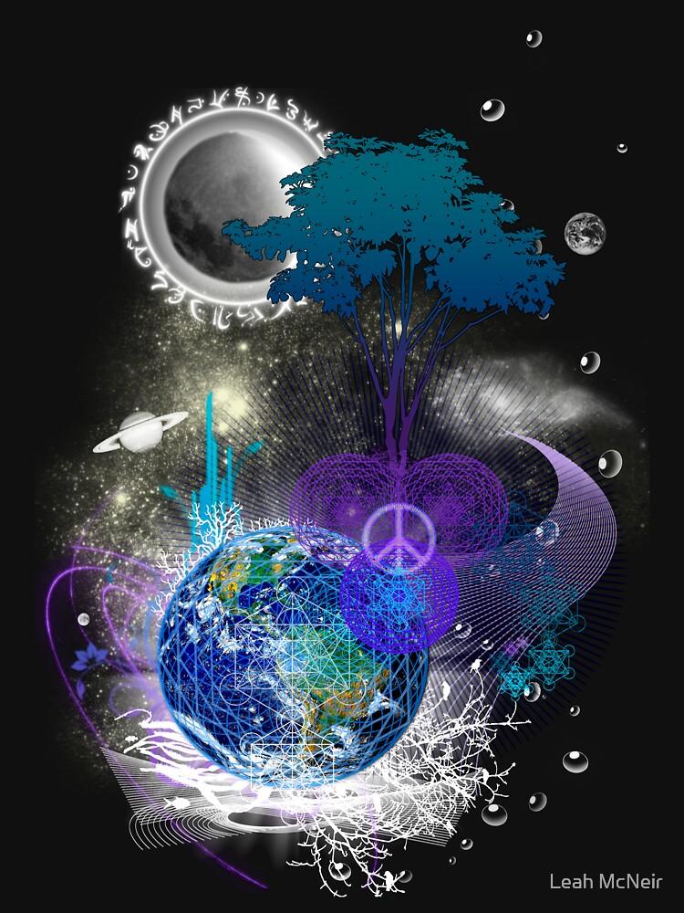 TShirtGifter presents: Cosmic geometric peace | Women's T-Shirt