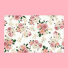Pink camelias by lefont
