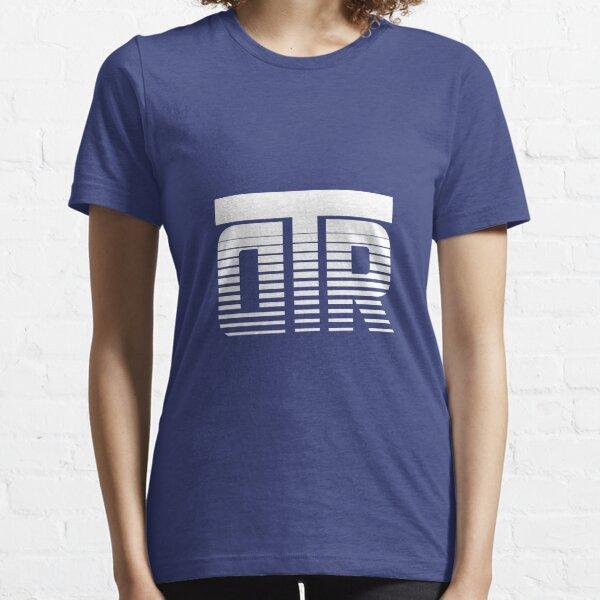 DTR White Logo w/ Royal Blue  Essential T-Shirt