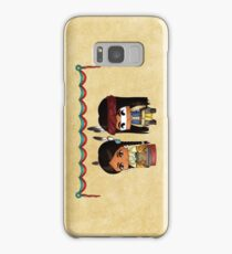 Chibi American Indians Samsung Galaxy Case/Skin