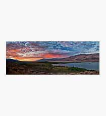 Eastern Sierra Sunset Photographic Print