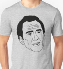 Badly Drawn Nic Cage T-Shirt