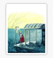 Average Heroes: The Bus Stop Waiter Sticker