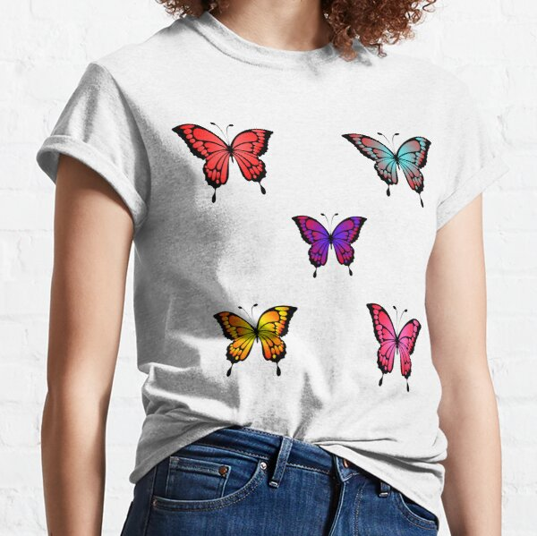 Cute Butterfly Pattern- Lovely Classic T-Shirt