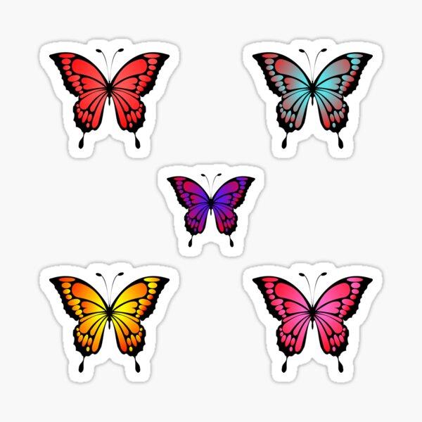 Cute Butterfly Pattern- Lovely Sticker