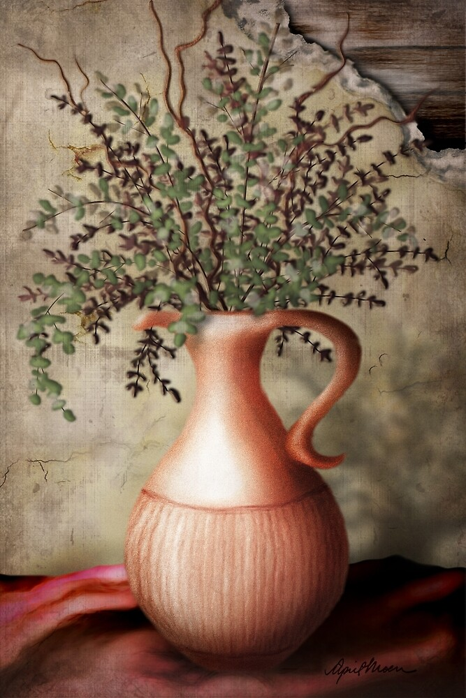 Still Life I by April  Moen