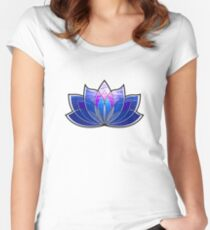 Lotus Blossom Women's Fitted Scoop T-Shirt