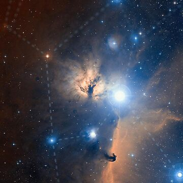 Orion Nebula Constellation by Astrous