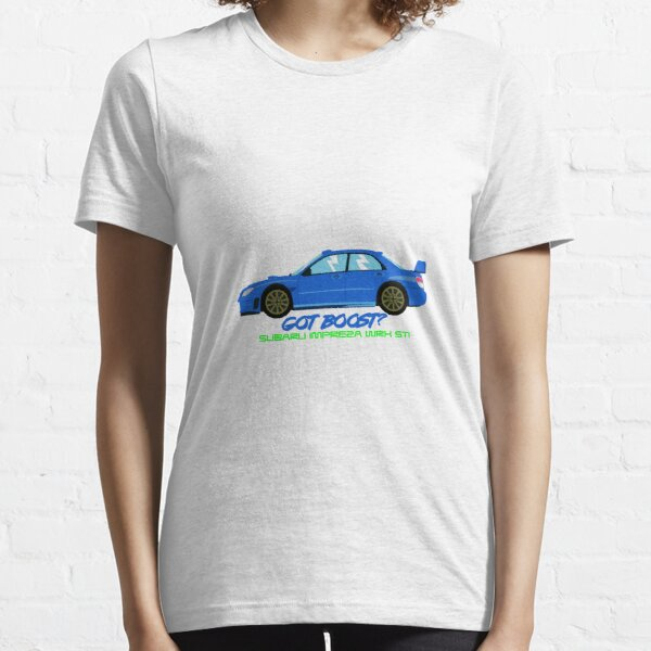 "Subaru Impreza WRX STI ""Got Boost?"" Essential T-Shirt"