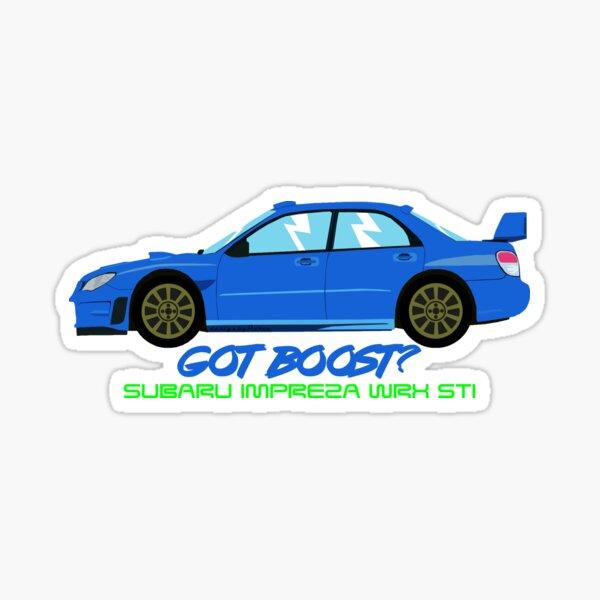 """Subaru Impreza WRX STI """"Got Boost?"""" Sticker"""