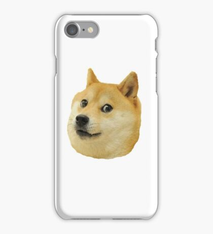 shibe doge face iPhone Case/Skin
