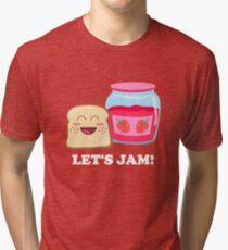 Lets Jam! Tri-blend T-Shirt