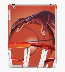 Basketball Slam Dunk Point Print  iPad Case/Skin