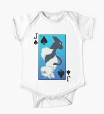 Jackdaw's Cry & Falling Feather Playing Card One Piece - Short Sleeve