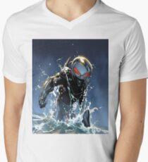 Black Manta Men's V-Neck T-Shirt