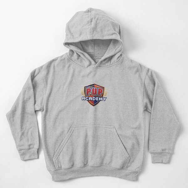 Pup Academy Show Kids Pullover Hoodie