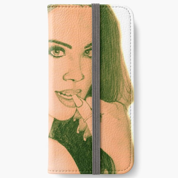 beauty girl iPhone Wallet