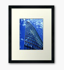 Berlin - DB Tower Framed Print