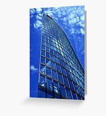 Berlin - DB Tower Greeting Card