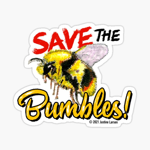 Save the Bumbles Sticker