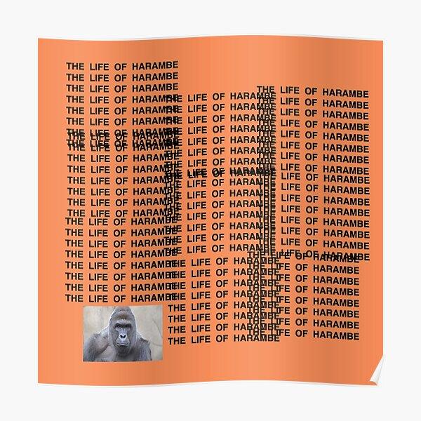 Harambe - The Life of Harambe Poster