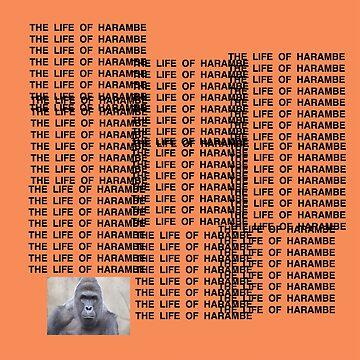 Harambe - The Life of Harambe by oapparelco