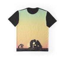 Merman & Harpy Sunset Graphic T-Shirt