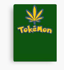 Tokemon - gotta smoke em all Canvas Print