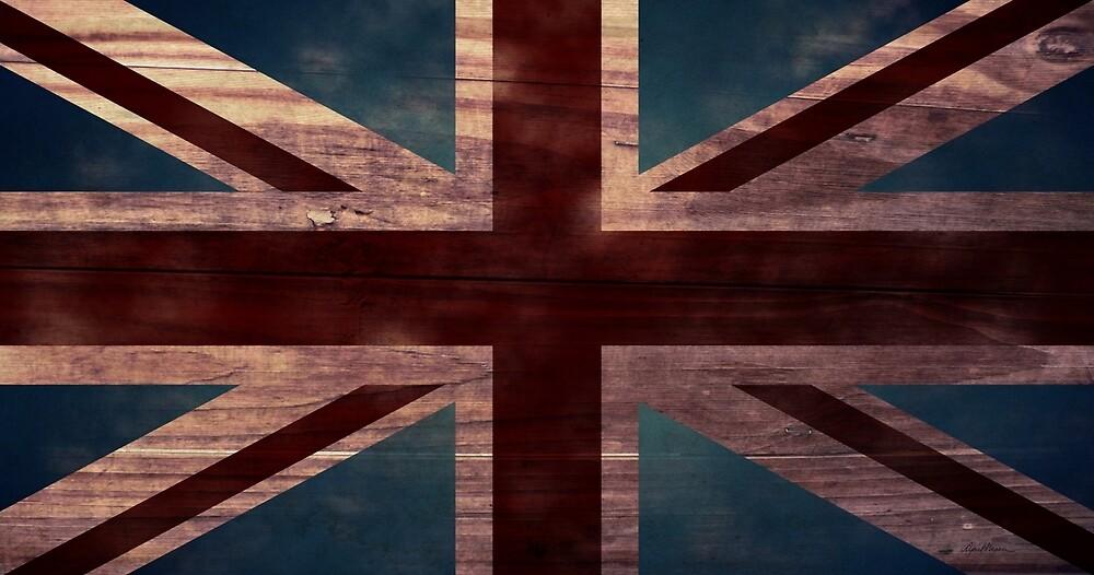 Union Jack I by April  Moen