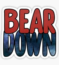 Bear Down Arizona Sticker