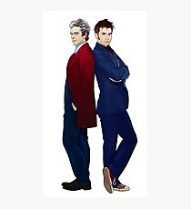 Doctor Who - Doctor 10 & Doctor 12 Photographic Print