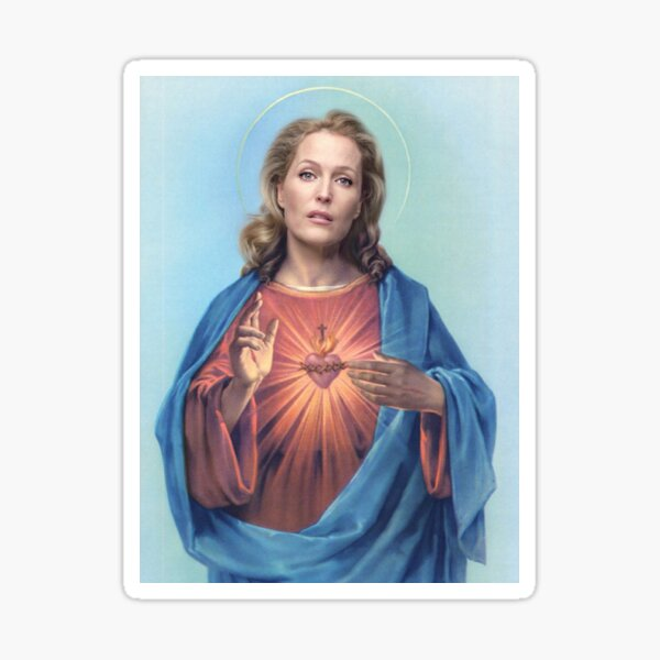 Jesus Gillian Sticker