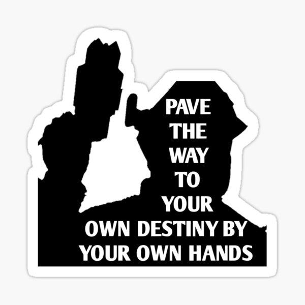 Pave Your Destiny Trigger Sticker