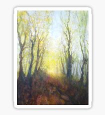 The Beginning of a Perfect Day (Original painting sold) Sticker