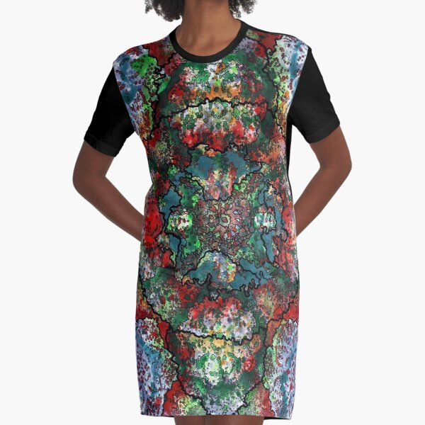 Stain 33 Graphic T-Shirt Dress