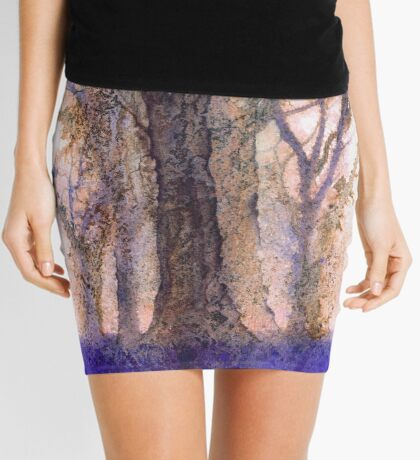 Hey, If you go down to the woods today you're sure of a big surprise (version 2) Original painting sold. Mini Skirt