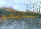 Hestercombe Gardens, Somerset (with a nod to Kurt Jackson) (Original painting sold) by Jacki Stokes