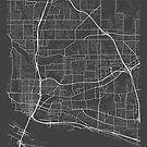 Vancouver Karte, USA - Grau von MainStreetMaps