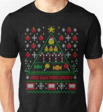 Elf Christmas Ugly Quote T-Shirt