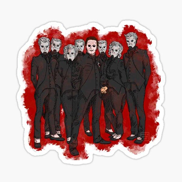 Ghost Band Shot Sticker