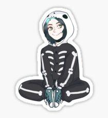 Skeleton boi Sticker