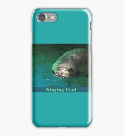 Staying Cool iPhone Case/Skin