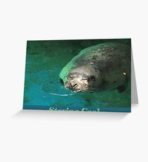 Staying Cool Greeting Card