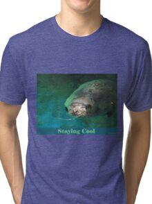 Staying Cool Tri-blend T-Shirt