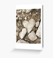 Heart Rock Creek Stomp Greeting Card