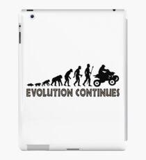 ATV Quad Bike Evolution Continues iPad Case/Skin