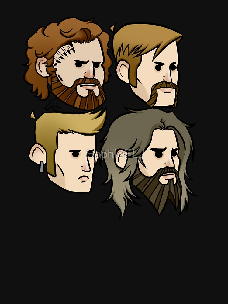 MASTODON cartoon quartet | Unisex T-Shirt